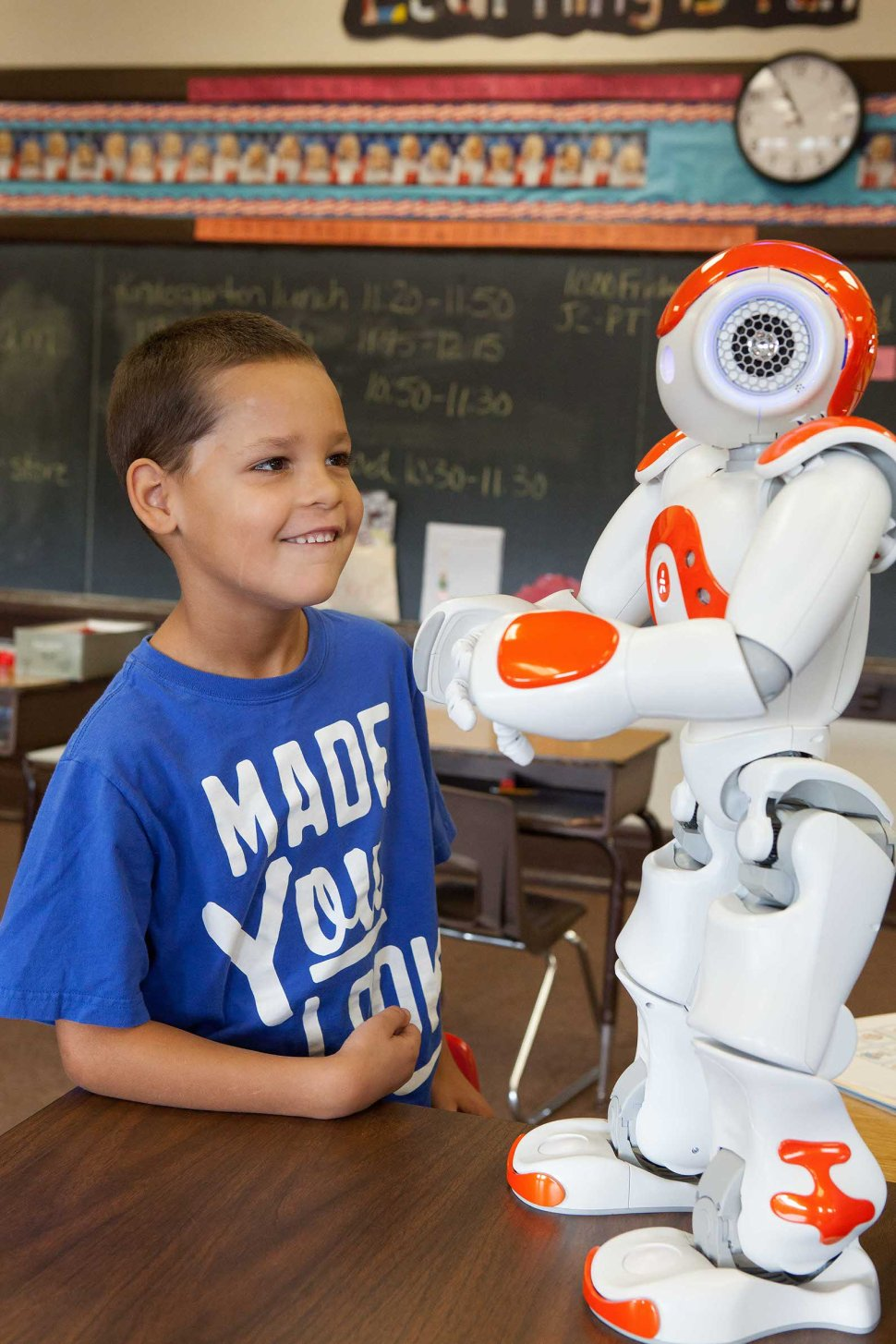 Using robots with special needs students